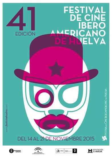 Cartel de la XXXI Edición del Festival de Cine Iberoamericano de Huelva.