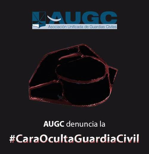 Campaña de la Asociación Unificada de la Guardia Civil.