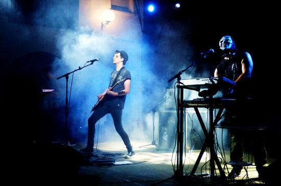 Imagen de Error6 durante su actuación.