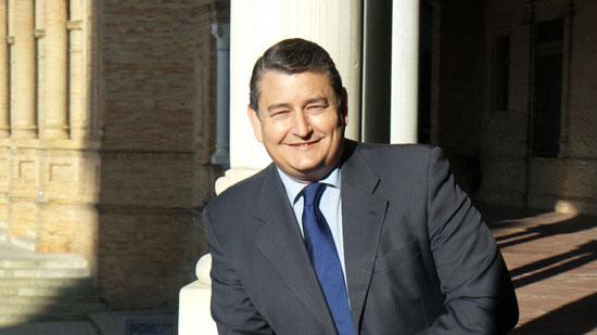 Imagen del Delegado del Gobierno en Andalucía, Antonio-Sanz.