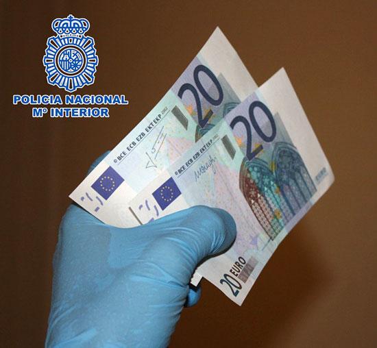 Imagen de los billetes