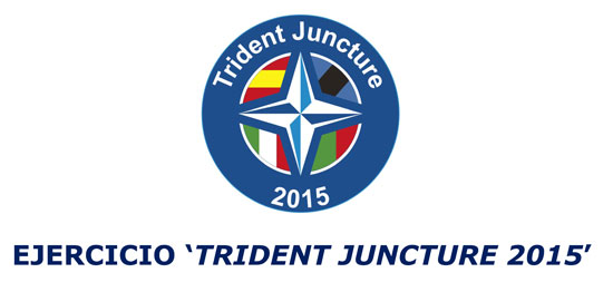 "Imagen del Ejercicio ""Trident Juncture 2015""."