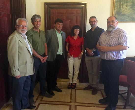 Reunión de la Asociación Huelva-Nueva York.