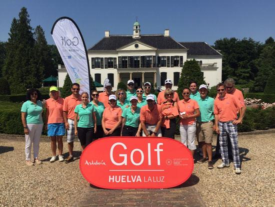 Torneo de golf disputado en Holanda.