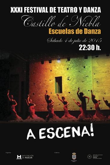"""Cartel de """"A Escena""""."""