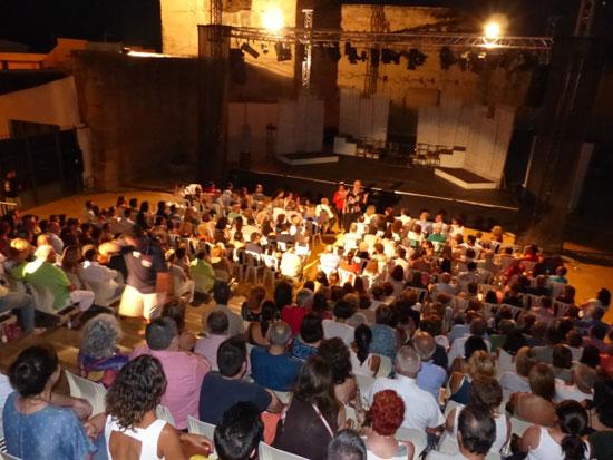Gran velada dedicada al teatro.