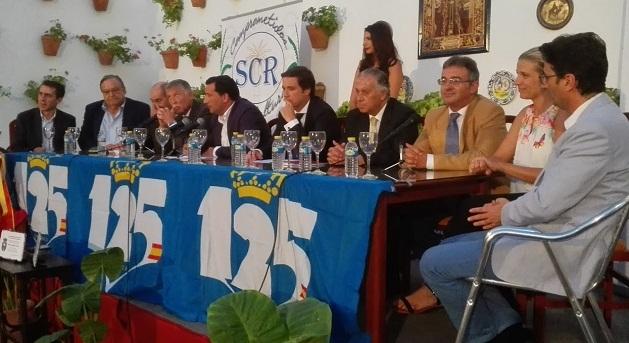 La Sociedad Cultural Casino de Rociana acogió en la noche del pasado jueves la presentación del cartel de la LI edición del Trofeo Colombino.