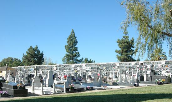 Imagen del cementerio de La Soledad.