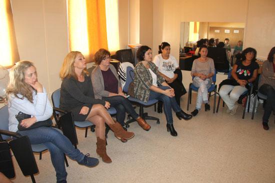 Imagen de algunas asistentes.