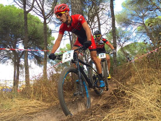 Imagen de una prueba de ciclismo