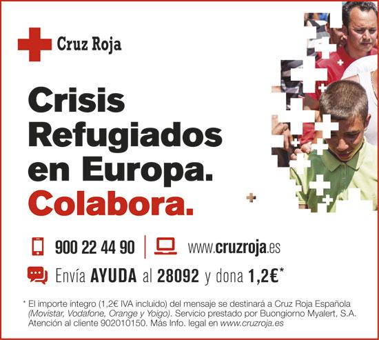 Imagen de la campaña de Cruz Roja.