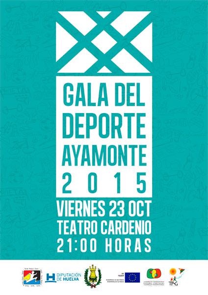 Cartel de la Gala del Deporte 2015.