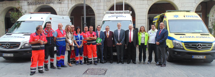 Andalucía y Portugal han firmado hoy un acuerdo de hermanamiento, a través de sus servicios sanitarios de emergencias, con la finalidad de mejorar la coordinación sanitaria ante emergencias complejas.