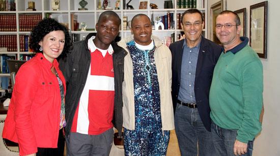 Rueda de Prensa sobre la cooperación en Benin.