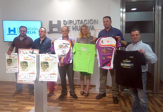 Presentación de la prueba deportiva en la Diputación de Huelva.