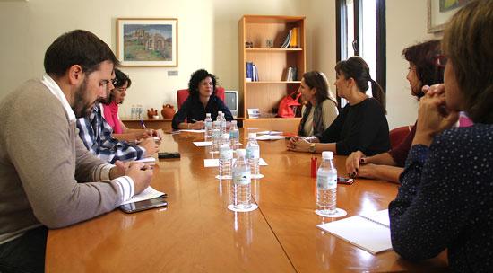 Imagen de la Mesa de Apoyo a los Refugiados en la provincia de Huelva