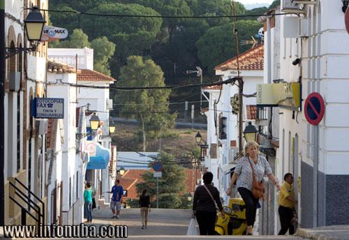 Imagen de la Calle Méndez Nuñez en Minas de Riotinto