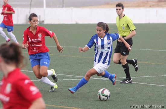 Imagen del encuentro de esta temporada entre el Sporting Club Huelva y la UDG Tenerife.