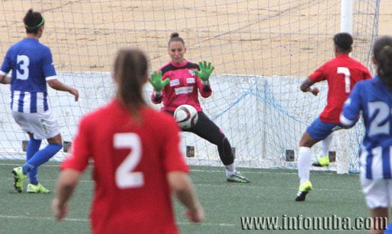 Imagen de un encuentro de esta temporada entre el Sporting Club Huelva y la  UDG Tenerife.
