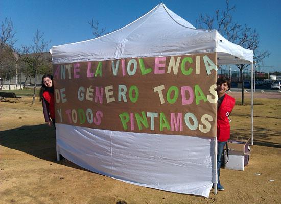 Iniciativa de Cruz Roja contra la violencia de género.