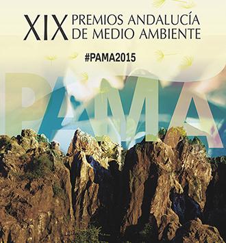 Cartel de los XIX Premios Andalucía de Medio Ambiente.