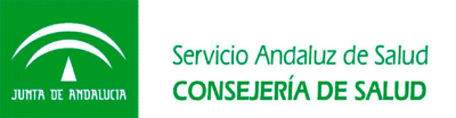 Logo del Servicio Andaluz de Salud.