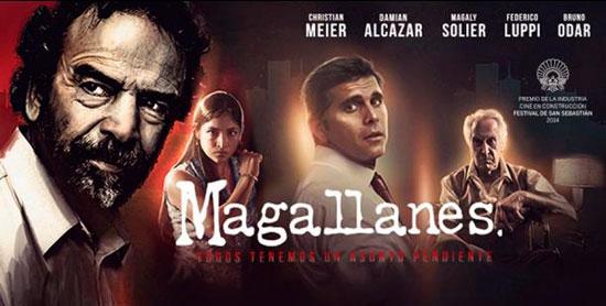 """Cartel de la película """"Magallanes""""."""