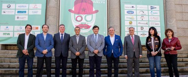 Imagen del acto de presentación del Festival Iberoamericano de Huelva.