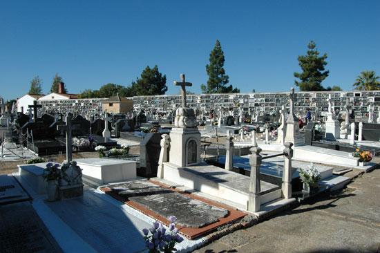 Imagen del Cementerio Municipal de La Soledad.
