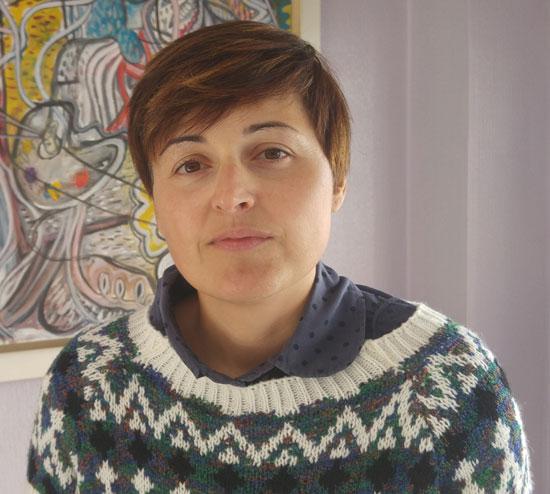 Imagen de Isabel Lancha, portavoz de IU en el Ayuntamiento de Nerva.