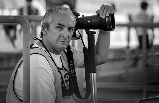 Imagen del fotógrafo Julián Pérez.