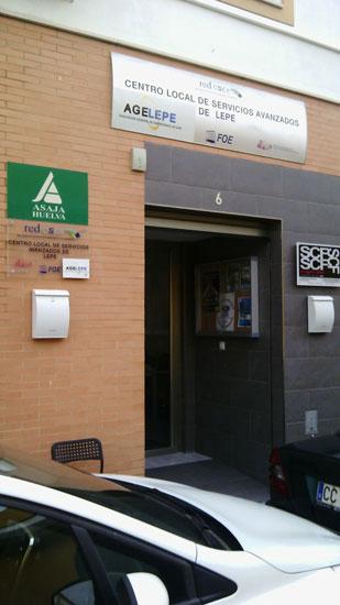 Oficina Comarcal de la Costa de Asaja Huelva.