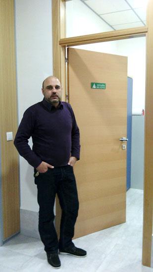 Imagen de Ricardo Escobar, técnico en la Oficina Comarcal de la Costa.