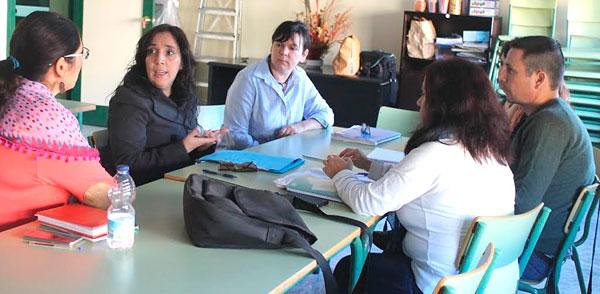 La concejala de Políticas Sociales e Igualdad del Ayuntamiento de Huelva, Alicia Narciso, se ha reunido esta semana con representantes de la Fundación Secretariado Gitano y la Unión Romaní,