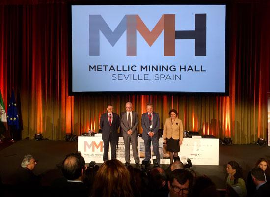 Imagen de la inauguración del Metallic Mining Hall.