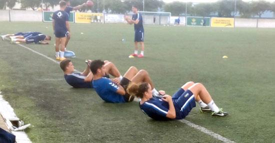 Patri Gavira ha comenzado a entrenar con el filial del Recreativo de Huelva.