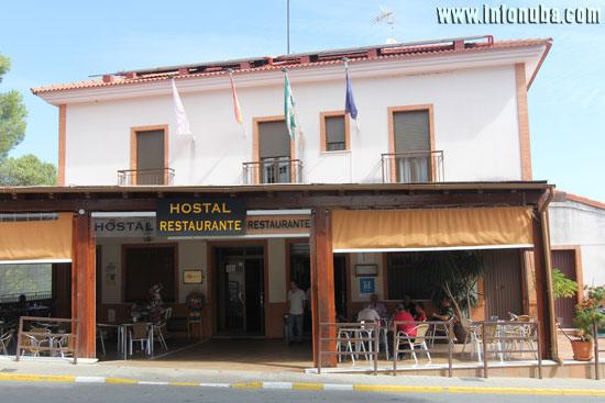 Imagen de un hostal en la provincia de Huelva.