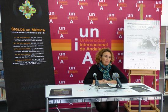 """Yolanda Pelayo  ha presentado esta mañana la programación de """"Siglos de Música 2015"""""""