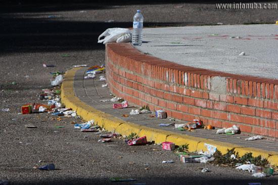 Imagen de los residuos..