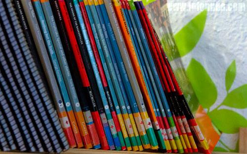 Imagen de unos libros.