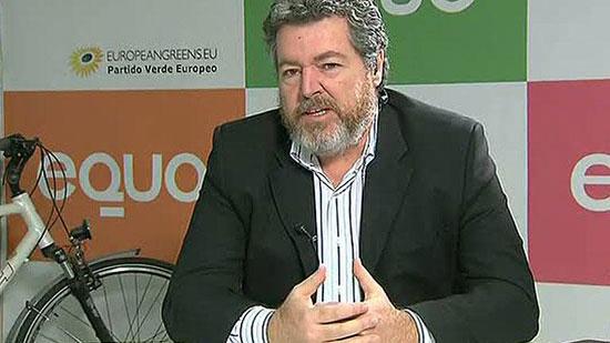 Imagen del coportavoz de EQUO, Juantxo López de Uralde.