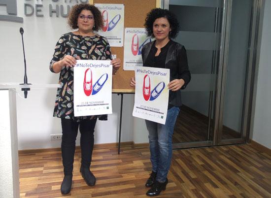 María Eugenia Limón y Eva Salazar en rueda de prensa.