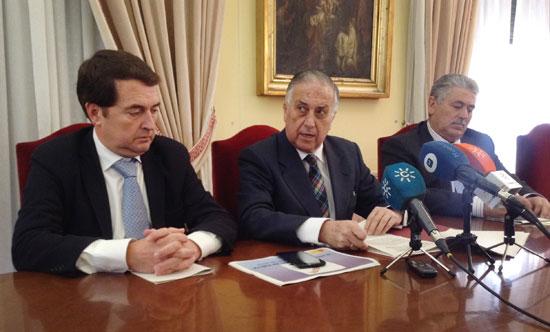 Presentación del dispositivo electoral en la Subdelegación del Gobierno en Huelva.