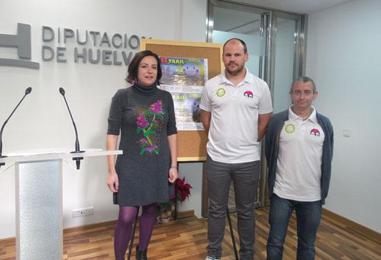 Imagen de la presentación de la prueba en la Diputación de Huelva.