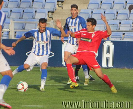 Imagen de un encuentro entre el Recreativo de Huelva y el Real Murcia C.F.