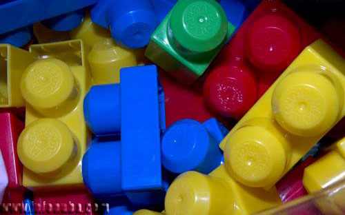 Imagen de bloques de construcción para niños.