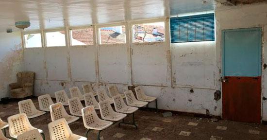 Imagen de un edificio municipal en la aldea de Las Delgadas.
