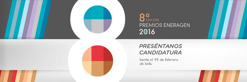 Cartel de los Premios Eneragem 2016