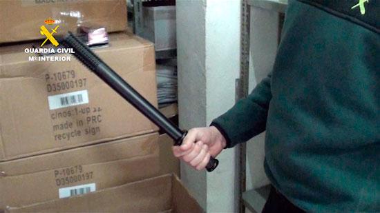 Imagen de una de armas incautadas.