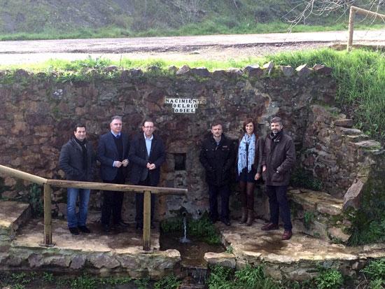 Imagen de la visita al área de Marimateos en Aracena.